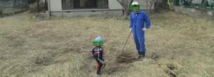 親子で家庭菜園・休耕地開墾・有機栽培